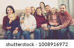 adult family making numerous... | Shutterstock . vector #1008916972