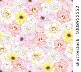 seamless pattern with colorful... | Shutterstock .eps vector #1008922552