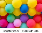 Colorful Balloons Wall For...