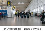 stansted  london   circa... | Shutterstock . vector #1008949486