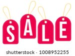 sale tags with red color | Shutterstock .eps vector #1008952255