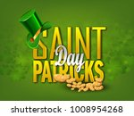 st patricks day | Shutterstock .eps vector #1008954268