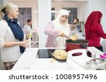 ready food on table at home | Shutterstock . vector #1008957496