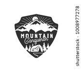 traveling  outdoor badge....   Shutterstock . vector #1008977278