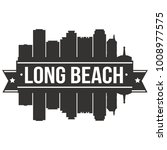 long beach california usa... | Shutterstock .eps vector #1008977575