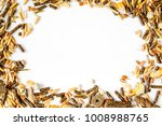 dry food for rodents on white...   Shutterstock . vector #1008988765