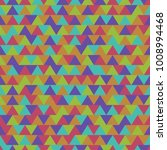 colored seamless geometric... | Shutterstock .eps vector #1008994468