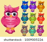 a large set of ten multi... | Shutterstock .eps vector #1009005226