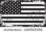 grunge usa flag.vector flag of... | Shutterstock .eps vector #1009005358