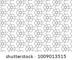 seamless vector pattern in... | Shutterstock .eps vector #1009013515