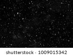 falling snow on a black... | Shutterstock . vector #1009015342