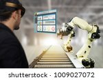 iot industry 4.0 concept... | Shutterstock . vector #1009027072