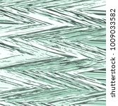 green abstract 3d zig zag... | Shutterstock .eps vector #1009033582