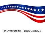 us flag stripes vector graphic... | Shutterstock .eps vector #1009038028