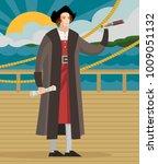 great america discoverer... | Shutterstock .eps vector #1009051132
