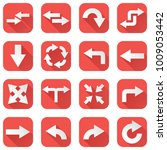 arrows set. collection of... | Shutterstock .eps vector #1009053442