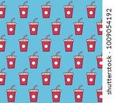 fast food design | Shutterstock .eps vector #1009054192