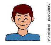 man avatar profile   Shutterstock .eps vector #1009068862