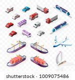 collection of realistic... | Shutterstock .eps vector #1009075486