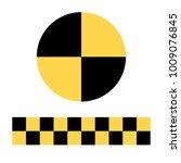 raster illustration crash test... | Shutterstock . vector #1009076845