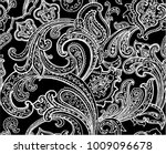 paisley seamless pattern | Shutterstock .eps vector #1009096678