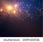 abstract shiny with glittering... | Shutterstock .eps vector #1009103536