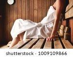 a beautiful woman wearing a...   Shutterstock . vector #1009109866