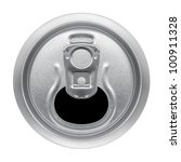 Beer Can On White Background ...