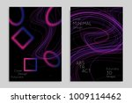 abstract banner template with... | Shutterstock .eps vector #1009114462
