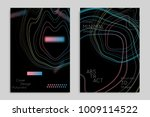 abstract banner template with... | Shutterstock .eps vector #1009114522