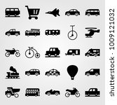 transport vector icon set.... | Shutterstock .eps vector #1009121032