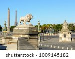 One Of The Two Marble Lions Of...
