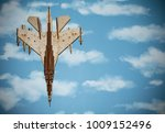airplane wooden on a background ... | Shutterstock . vector #1009152496