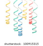 bright serpentine isolated on... | Shutterstock . vector #100915315