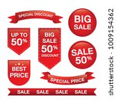set of sale tags with text ... | Shutterstock .eps vector #1009154362