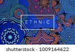 ethnic banners template with... | Shutterstock .eps vector #1009164622