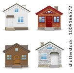 small country house vector... | Shutterstock .eps vector #1009166572