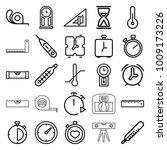 measurement icons. set of 25... | Shutterstock .eps vector #1009173226