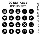 single icons. set of 20...   Shutterstock .eps vector #1009177042