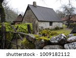 old traditional estonian house... | Shutterstock . vector #1009182112