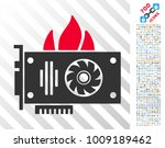 Burn Video Graphics Card Icon...