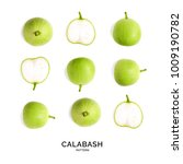 Seamless Pattern With Calabash...