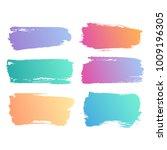 grunge bright gradient... | Shutterstock . vector #1009196305