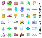 automatic device icons set....   Shutterstock .eps vector #1009206502