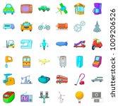 mechanistic icons set. cartoon...   Shutterstock .eps vector #1009206526