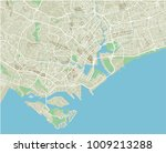 vector city map of singapore... | Shutterstock .eps vector #1009213288