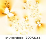 spring fantasy with butterflies | Shutterstock . vector #10092166