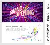 grand opening vector... | Shutterstock .eps vector #1009221682