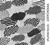 irregular patchwork pattern.... | Shutterstock .eps vector #1009240666