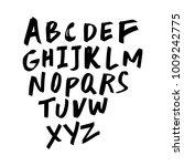 vector ink unique lettering... | Shutterstock .eps vector #1009242775
